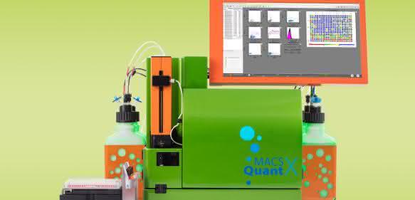 Das Durchflusszytometer MACSQuant® X von Miltenyi Biotec