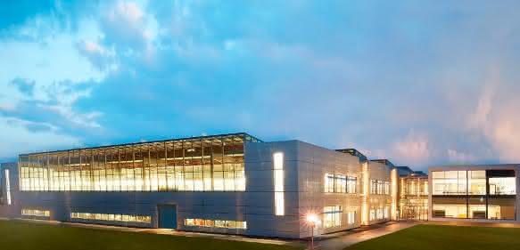 Sartorius-Neubau zur Laborinstrumentenfertigung am Standort Göttingen (Bild: Sartorius)
