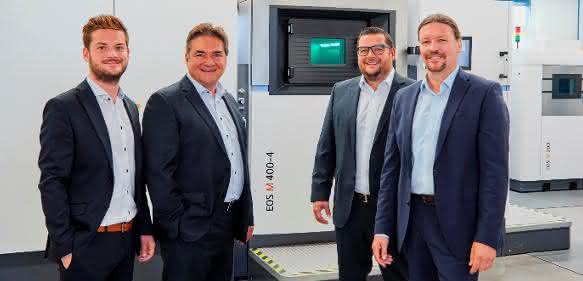 Wehl & Partner setzt auf EOS M 400-4