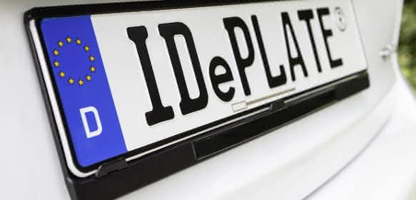 Kfz-Kennzeichen IDePLATE®