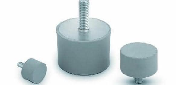 Gummi-Metall-Dämpfer: Mittlere Härte