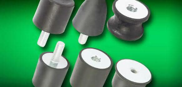 Gummi-Metall-Puffer: Konisch oder ballig