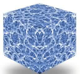Vergrößerte Ansicht einer Natrix HD Membran mit Porenstruktur, bestehend aus bis zu 95 Prozent eines funktionalen Monomers.