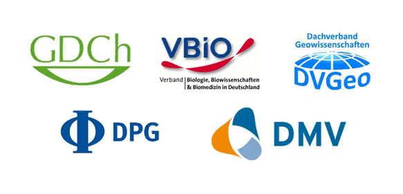 Logos der Fachgesellschaften