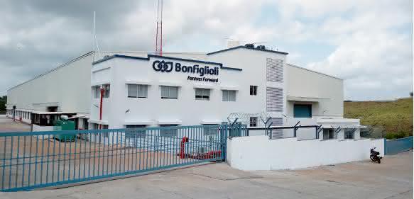 Bonfiglioli-Montagewerk-Indien