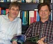 Professor Dr. Lars-Oliver Essen (rechts) und Dr. Christof Taxis