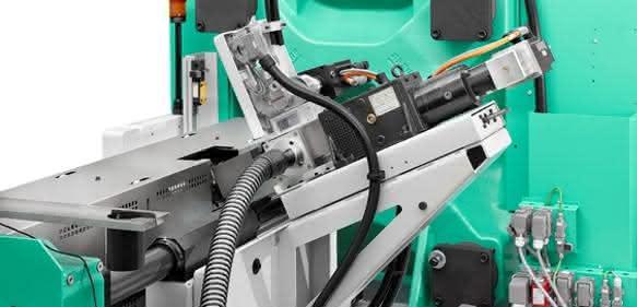 Die für die Direktverarbeitung genutzte Spritzgießmaschine der Firma Arburg ist durch einen Austausch des Spritzaggregats auch konventionell nutzbar und bietet somit höchste Flexibilität.