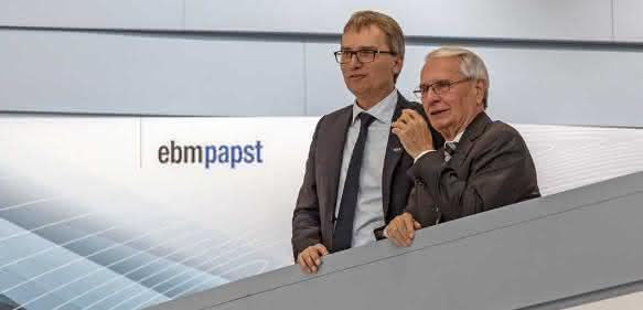 ebm-papst-Ralf und Gerhard Sturm