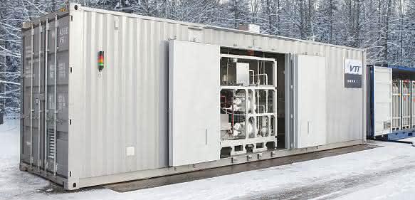 Power-to-Liquid: Synthetischer Kraftstoff aus Sonnenenergie und Luft-CO<sub>2</sub>