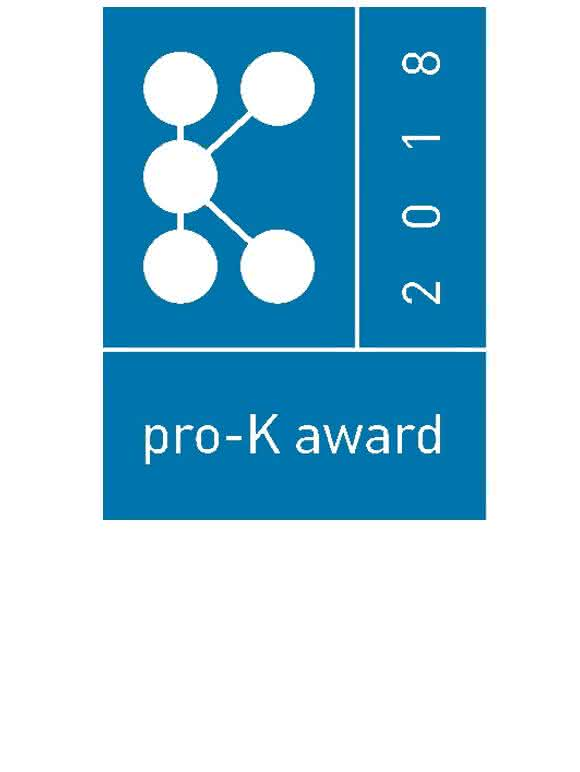 Unter diesem Label sollen auch Anfang 2018 wieder pfiffige Lösungen aus Kunststoffen prämiert werden. (Bild: Pro-K)