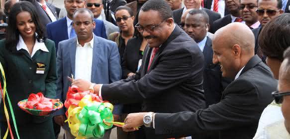Unitechnik-Übergabe Ethiopian Airlines