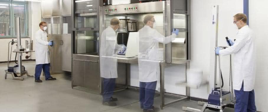 Eine große Verantwortung, vor allem in Sachen Mitarbeiterschutz, dessen sich die Planer bei der Neugestaltung des Forschungsbereichs bewusst waren.