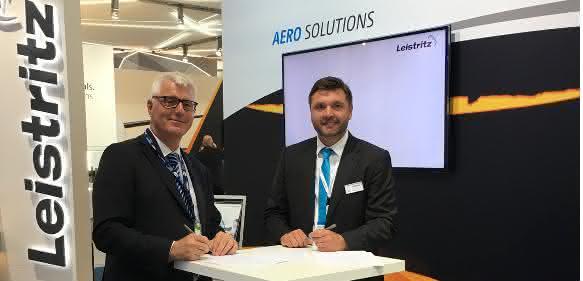 Additive Fertigung: Partnerschaft zur Herstellung von Turbinenbauteilen