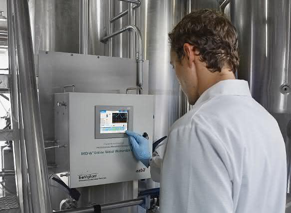 Keimzahl-Bestimmung: Online-Überwachung von Pharmawasser