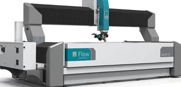 Das Wasserstrahlschneidsystem moderne Architektur und Schneidtechnologie mit Service- und Supportleistungen. (Bild: Flow)