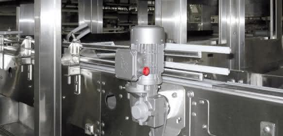 Schneckengetriebemotor