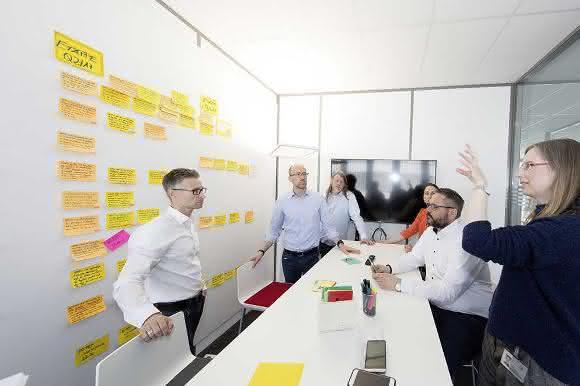 Agiles Arbeiten in der Volkswagen IT-City.