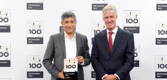 Auszeichnung als Innovationsführer im Mittelstand