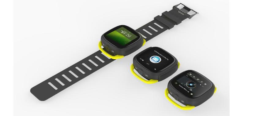 Wearables: Flexible Smartwatch für den B2B-Sektor