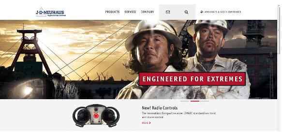 Neue Website von J.D. Neuhaus