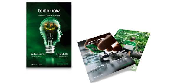 "Technologiemagazin ""tomorrow"""