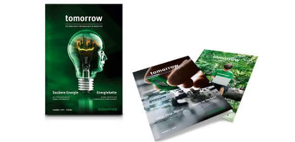"Technologiemagazin ""tomorrow"""