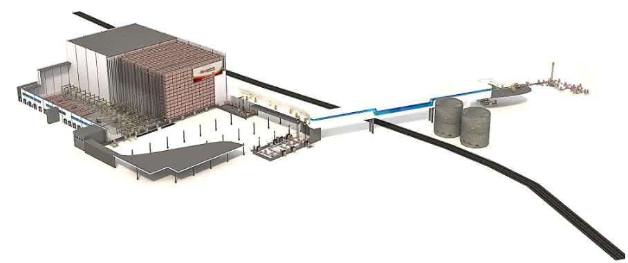 SSI Schäfer errichtet für Budweiser Budvar ein neues Distributionszentrum.