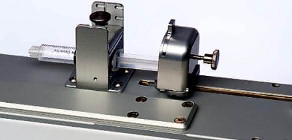 Dosiertechnik: Spritzenpumpe für Mikrovolumina