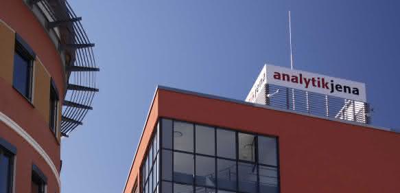 Analytik Jena - Firmengebäude