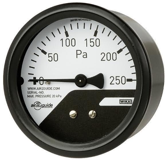 Differenzdruckmanometer: Filterdruck-Kontrolle auf engem Raum