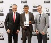 Preisverleihung des TOP 100 Awards