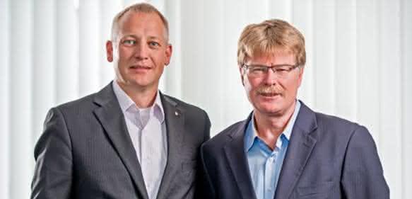 Benjamin Redlingshöfer (links) und Ralf-Uwe Bauer