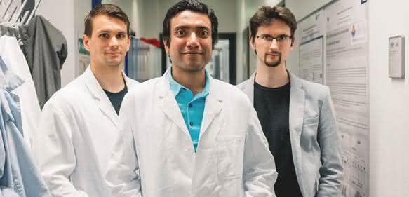 Haben gemeinsam an der Studie gearbeitet: Fabian Draht, Abdelrahman Rayan und Fabian Schönfeld