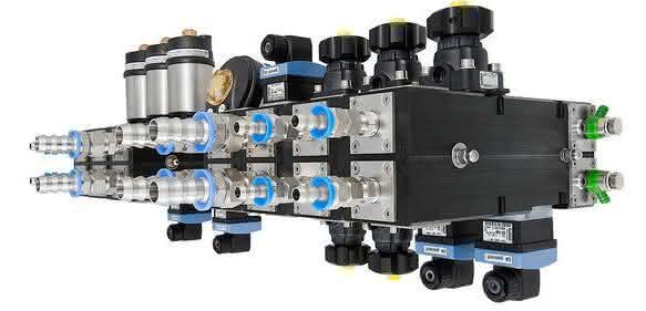 Kombination verschiedener Ventilfunktionen und Sensoren