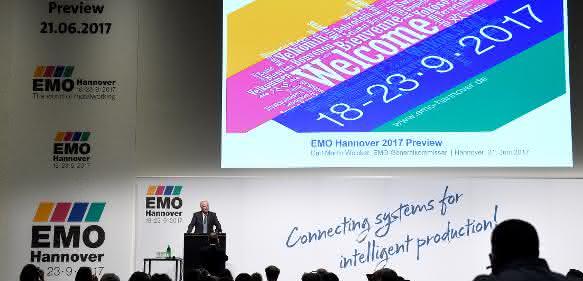 Metallbearbeitung in Hannover: Steinmeier eröffnet EMO 2017