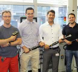 Schraubtechnik-Team bei Deutz