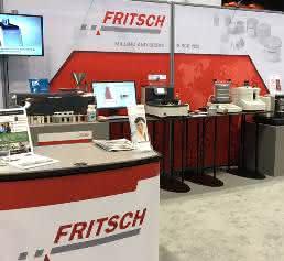 Laborgerätehersteller Fritsch bei der Pittcon 2017