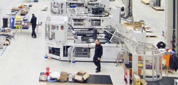 Die Spritzgießmaschinenfertigung aus Malterdingen soll erst später in dieses Werk nach Tschechien verlegt werden.(Bild. Milacron)
