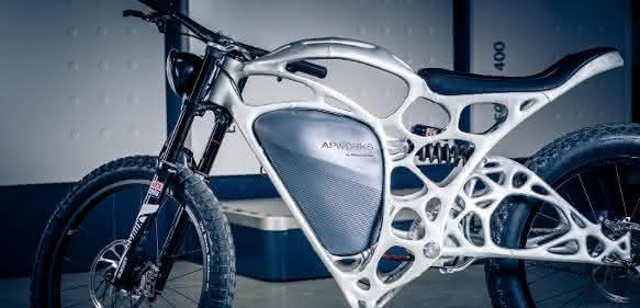 Bildergalerie: Airbus druckt Elektromotorrad in 3D
