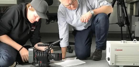 Vakuumpumpe: Leybold wählt COPT Zentrum als Kulisse für Produktvideo