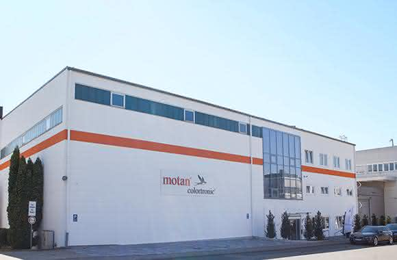 motan-colortronic Technikum am Standort Friedrichsdorf