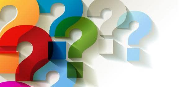 Neugier und Fragen