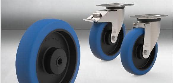 Kunststoffräder in der Lebensmittelindustrie