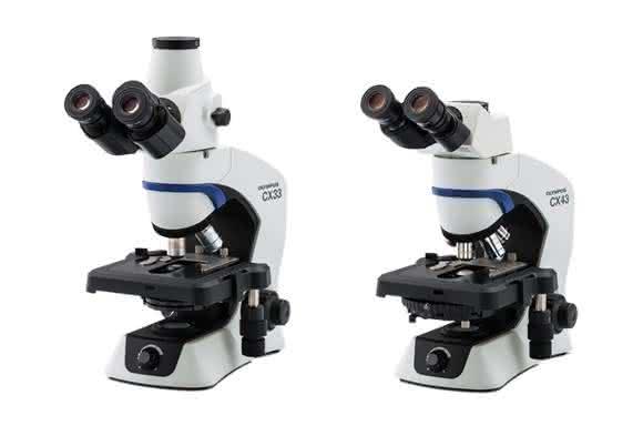 Mit den neuen Modellen CX43 und CX33 hat Olympus zwei neue Mikroskope auf den Markt gebracht, die besonders für zeitintensive Routinebeobachtungen gut geeignet sind.