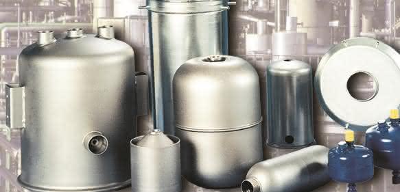 Blechformteile zur Herstellung von Ausgleichsgefäßen, Verdichtern und Flüssigkeitssammlern Rübsamen