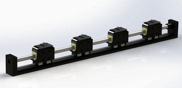 Linearmotor-Achse