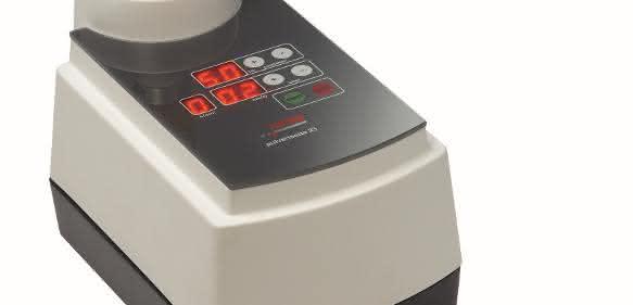 Die Mini-Mühle Pulverisette 23 eignet sich zur Zerkleinerung geringer Probenmengen – in Nassmahlung genauso wie trocken oder kryogen.