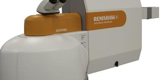 Das inVia Qontor Raman-Mikroskop von Renishaw.