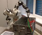 Bin Picking mit einem kollaborativen ABB-YuMi-Roboter