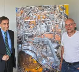 Dr. Ulrich von Hülsen und Dr. Heinz Grote